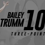Image for the Tweet beginning: 🔥During the District Tournament, @BaileyTrumm