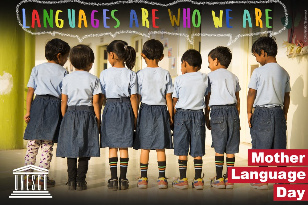 Let us celebrate the power of mother languages to build peace and sustainability!  21 February is International #MotherLanguageDay!   https://t.co/ki3DqPASk0