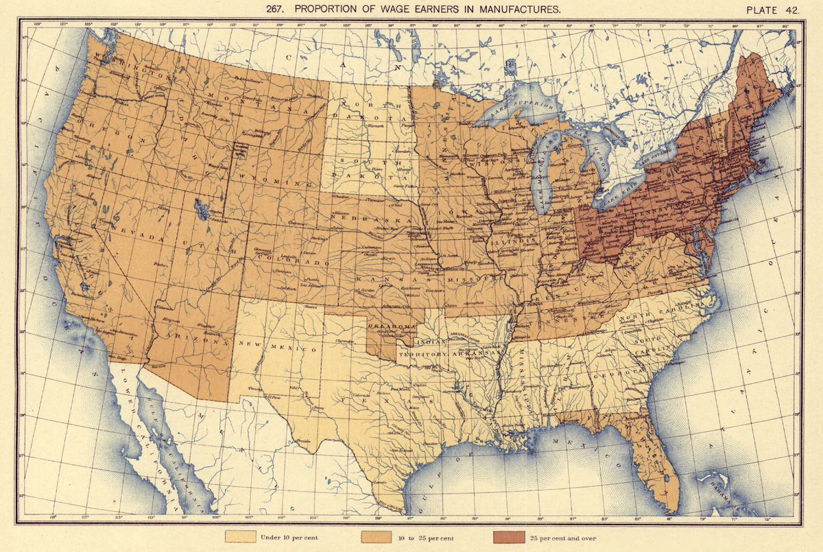 Us Census Bureau On Twitter Following The 1890 Census The - Map-of-the-us-in-1890