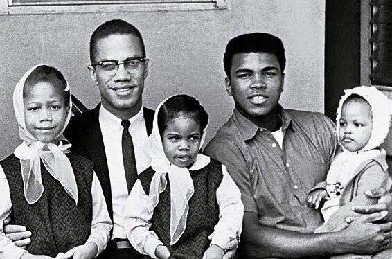 Beautiful Picture  Kings with their princesses #MalcolmX #MuhammadAli <br>http://pic.twitter.com/oLWtDl7yyT