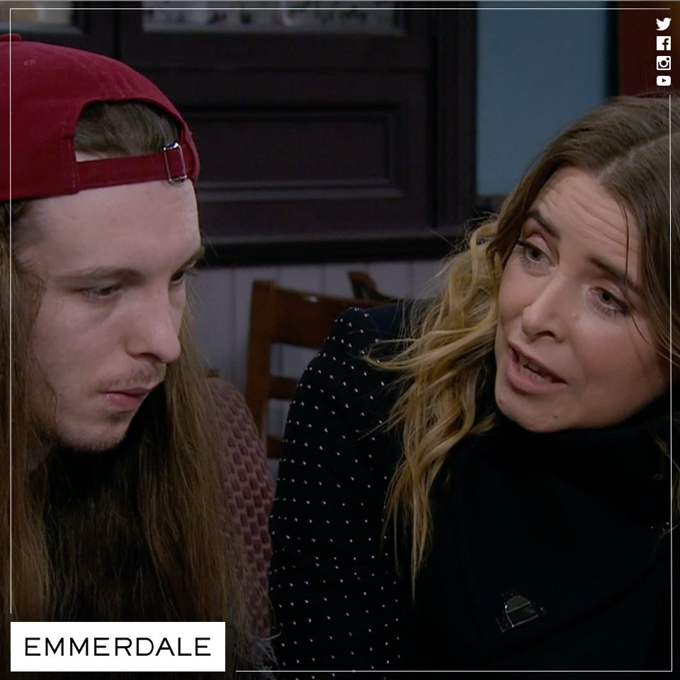 'The next lass who hooks you has won the lottery.' #Emmerdale