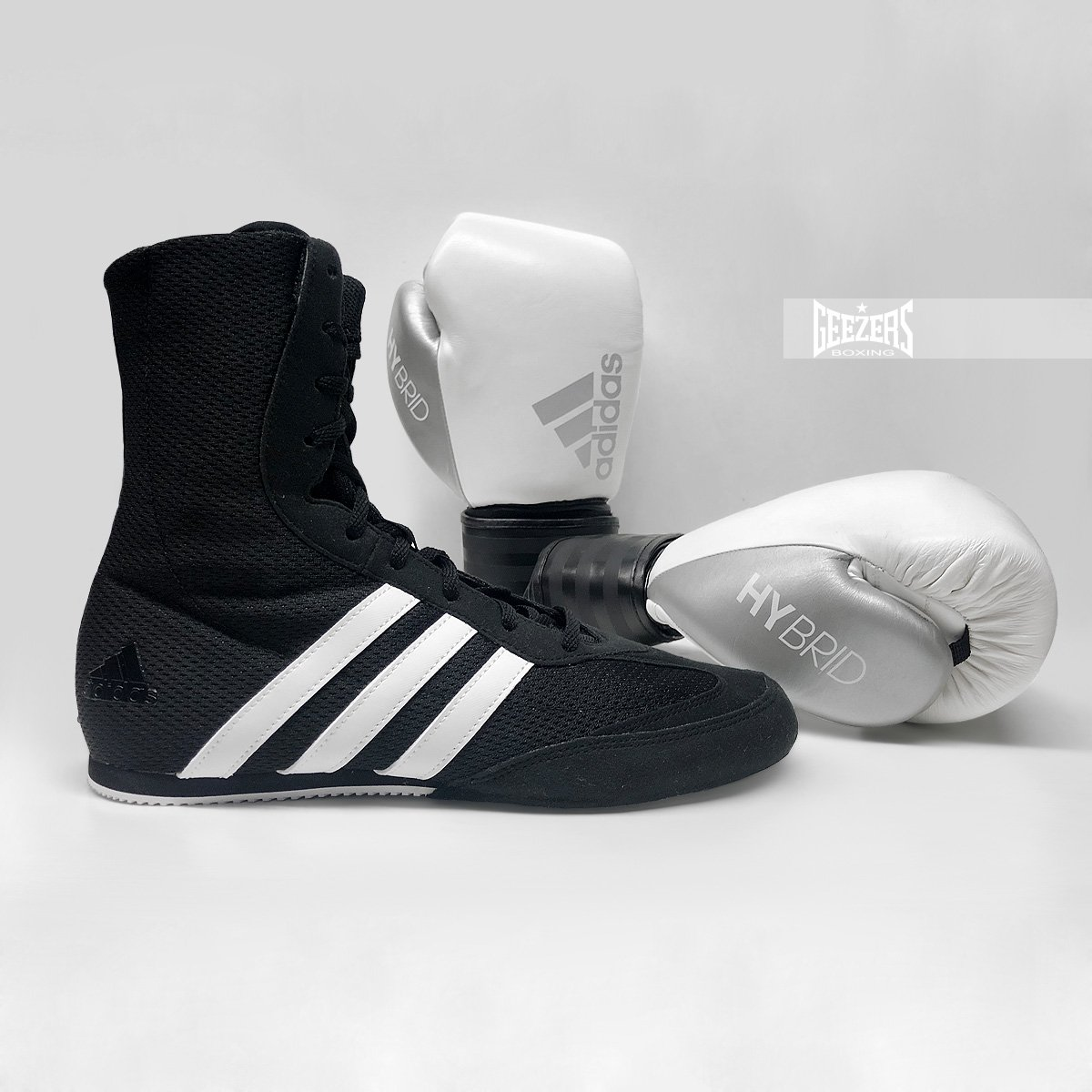 ee344d3bb0dc The perfect combo for beginners. https   www.geezersboxing.co.uk footwear  adidas-box-hog-boxing-boot-black-white … ...