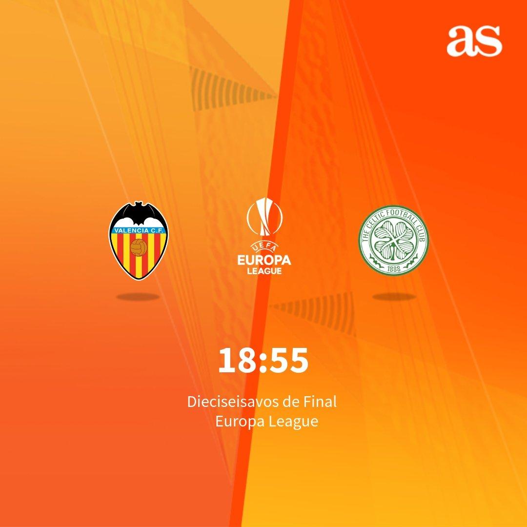 📍 VAL-CEL 🏟️ ¡Ya hay alineaciones en Mestalla! ⚽ Resultado de la Ida: 2-0 🏆 #EuropaLeague ✍️ En Directo:  https://t.co/AunCRqF4UN
