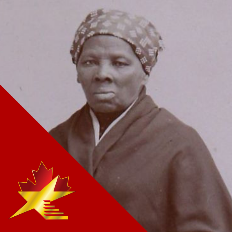 Harriet Tubman (1820– 1913)  Tubman escaped from enslavement in the southern United States.  She used the Underground Railroad to lead numerous slaves to freedom in the northern states, and Canada.  In 1851 she settled in St. Catherines, Canada.  #acwof #blackhistorymonth