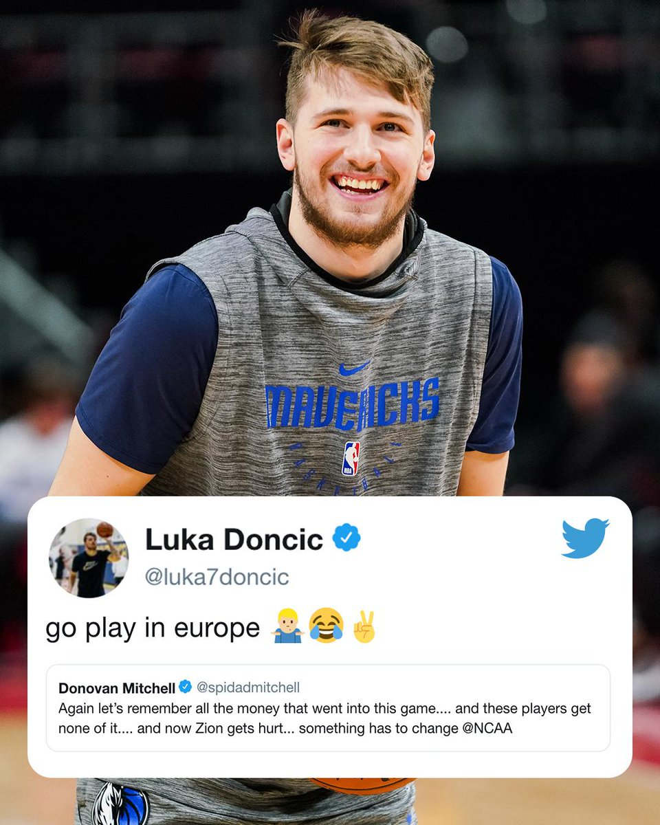 Luka Doncic seems to have the perfect solution for Zion 🤔