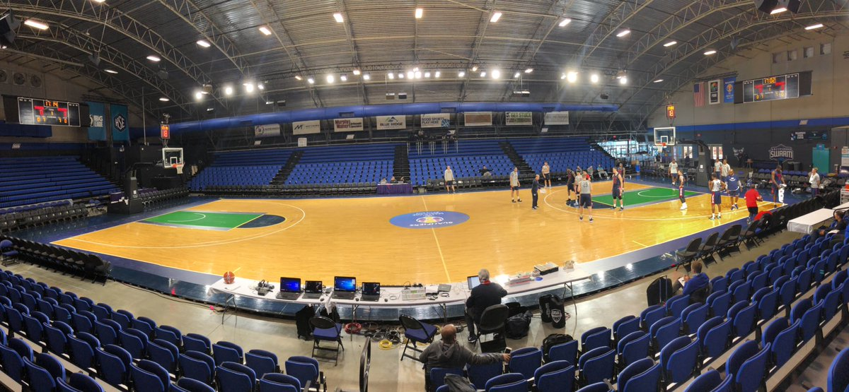 The Fieldhouse is an awesome venue right next to the Greensboro Coliseum. Greensboro Swarm of #NBAGLeague play their home games here.