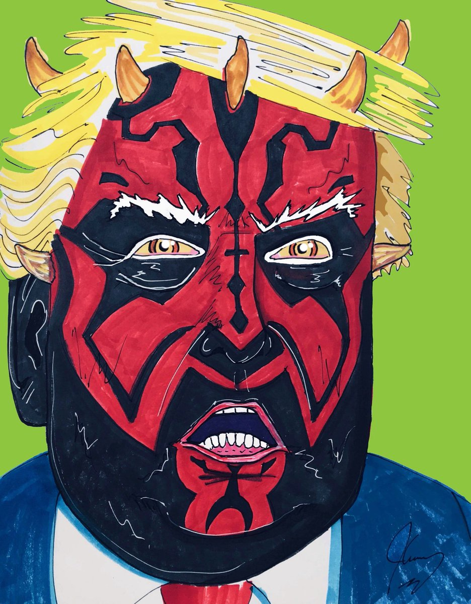 If u can still support this repugnant oaf, while ignoring 17 investigations, 34 indictments, 7 guilty pleas, 9000 lies, child imprisonment, money laundering, racism, misogyny, infidelity, environmental rape, and high treason, you're not just misinformed... you're a Sith.