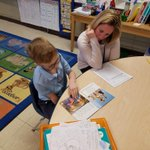 Image for the Tweet beginning: Reading pairs in 1st grade;
