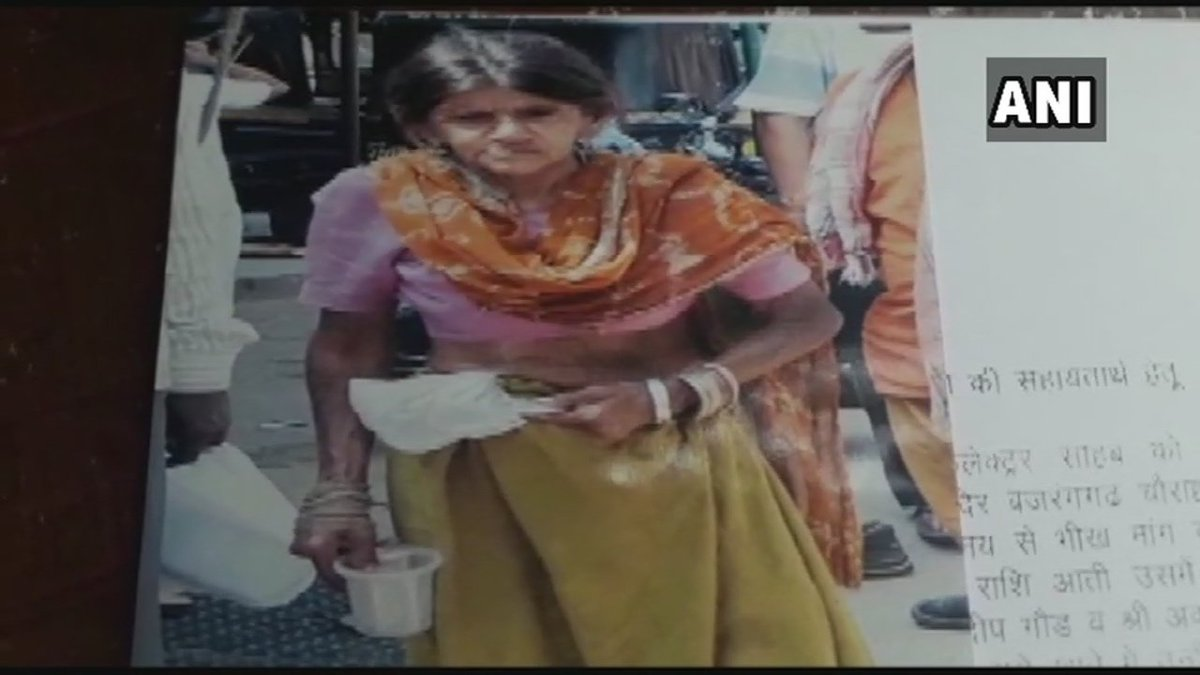 Ajmer: Around Rs 6.6 lakh worth savings of a lady beggar, who passed away last year, was donated for families of CRPF soldiers who lost their lives in Pulwama attack. Her guardian handed a bank draft of the amount to the district collector.  #Rajasthan