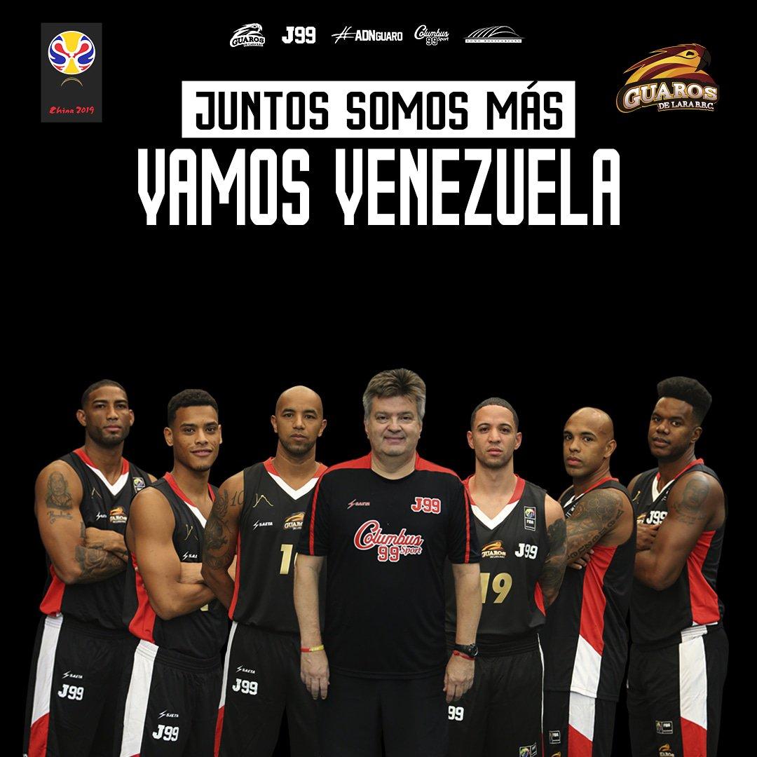 Hoy los nuestros vuelven a la cancha!. 🙏👊 ⠀⠀⠀⠀⠀⠀⠀⠀⠀ ¡Vamos Venezuela!🔥💪 ⠀⠀⠀⠀⠀⠀⠀⠀⠀ 🆚República Dominicana 🇩🇴 📍Palacio de los Deportes de Santo Domingo ⏰8:30 pm 📺Directv Sports 🏆@fibawc ⠀⠀⠀⠀⠀⠀⠀⠀⠀ #ADNGuaro #JuntosSomosMas #FIBAWC #EstaEsMiCasa