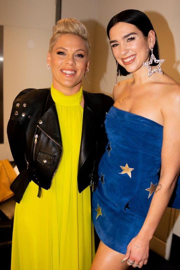 .@DUALIPA meets her idol @Pink, plus more stars who fangirl over each other https://t.co/LKRyZjYy7b