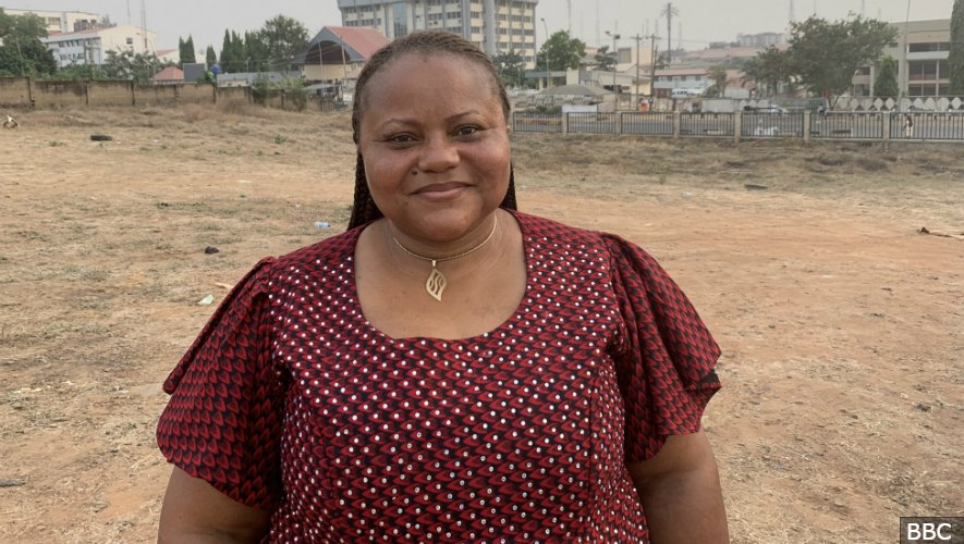 """""""Come out there and vote - do yourself proud and do Nigeria proud"""" @faithlyn_7 tells #FocusOnAfrica listeners. We're live in Abuja ahead of this weekend's postponed #NigeriaDecides2019 elections. http://bbc.in/2ST2rsm"""