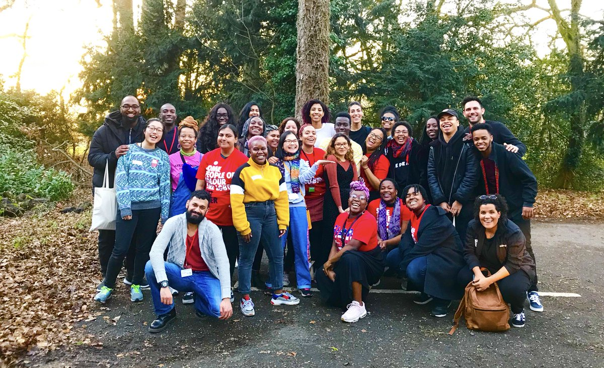 I've been so lucky to have spent the week with this inspiring group of young people on our @stonewalluk BAME/PoC LGBTQ+ campaigning programme. My mind is blown, my heart is bursting and my passion for empowering young people is stronger than ever.  👍🏼👍🏽👍🏾👍🏿🏳️🌈