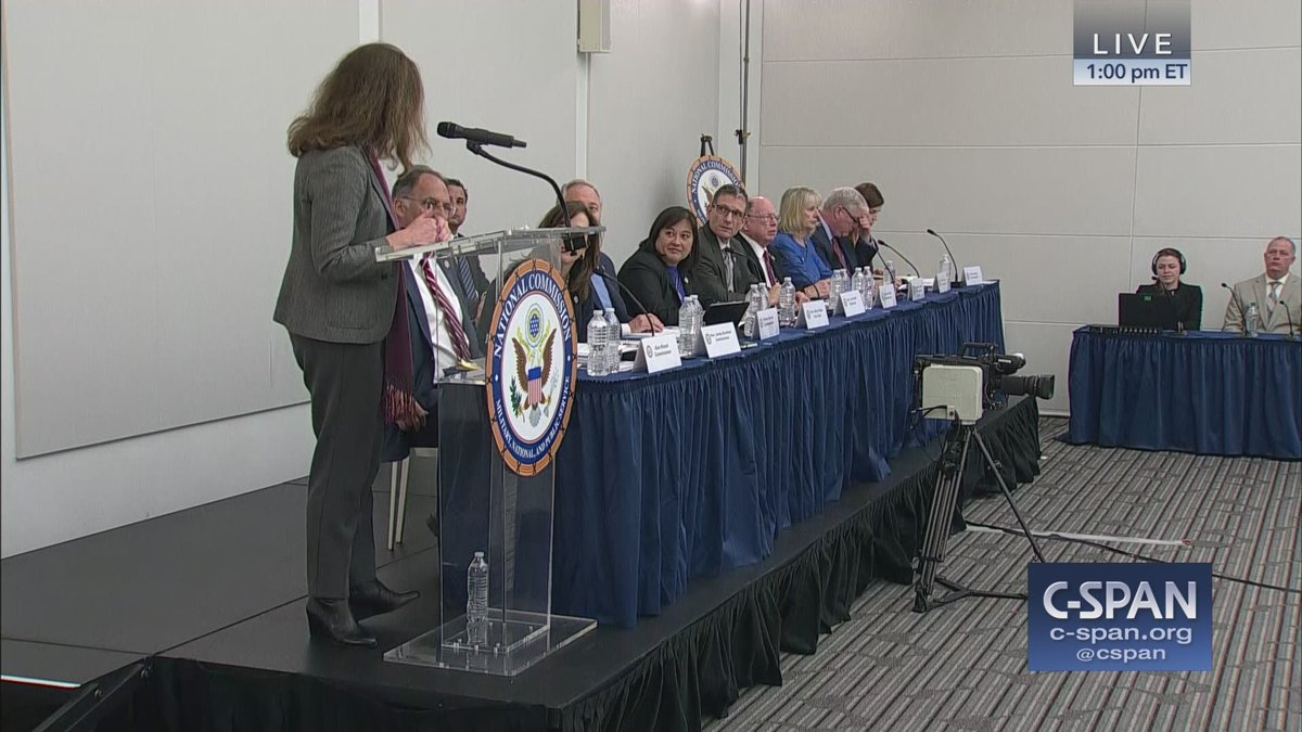 National Commission on Military, National, and Public Service (@Inspire2ServeUS) hearing – LIVE online here: https://cs.pn/2VaucJO   #Inspire2Serve #UniversalService