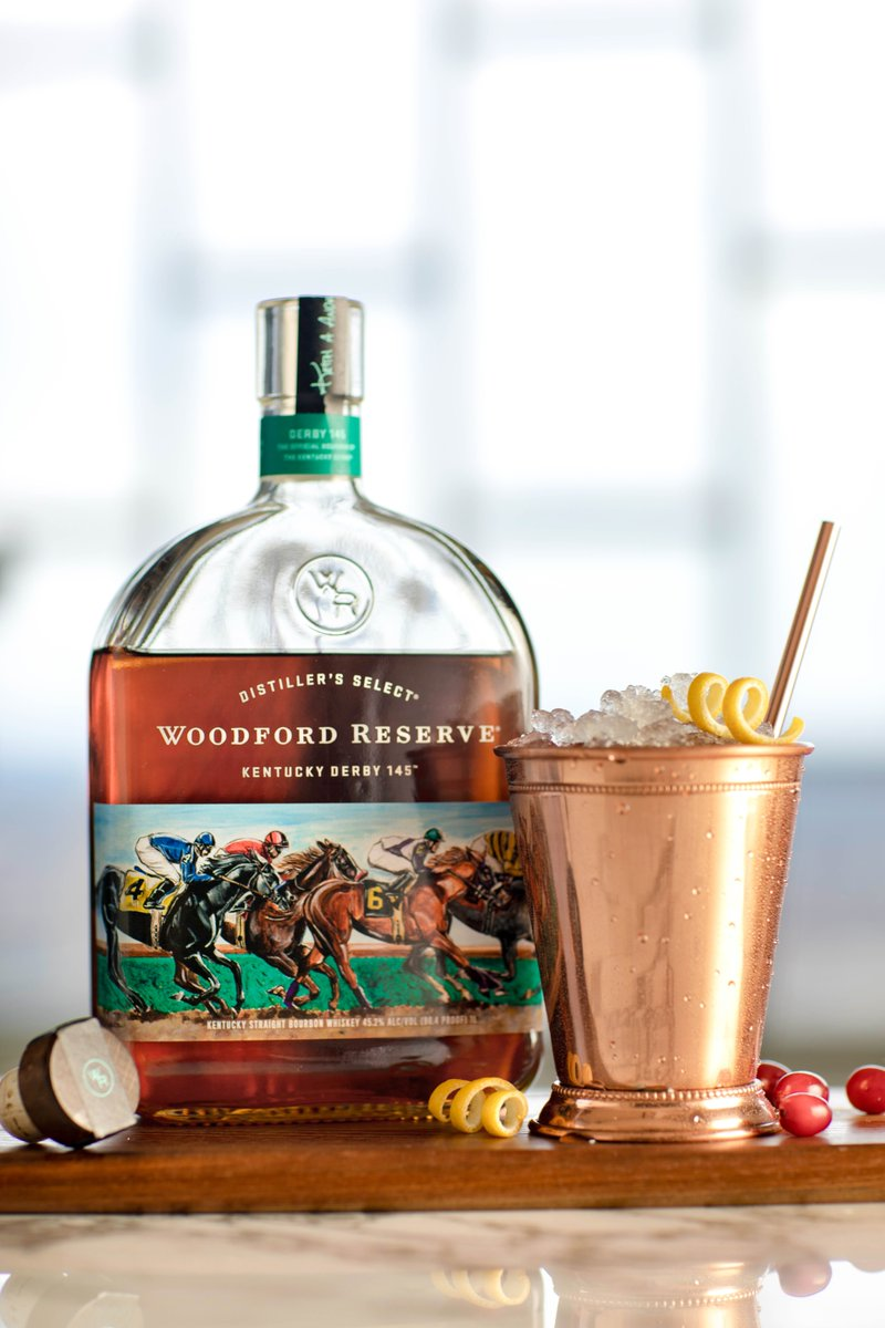 Say hello to the 2019 Woodford Reserve Derby bottle. #woodfordreserve