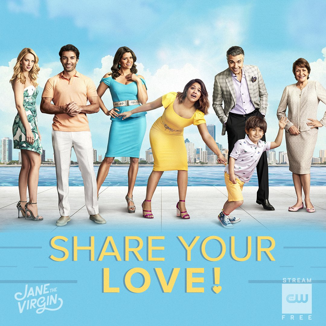 The final season of #JaneTheVirgin premieres March 27! Tweet us your favorite moments and bid farewell to the cast. #GoodbyeJane <br>http://pic.twitter.com/caoDgnlYhG