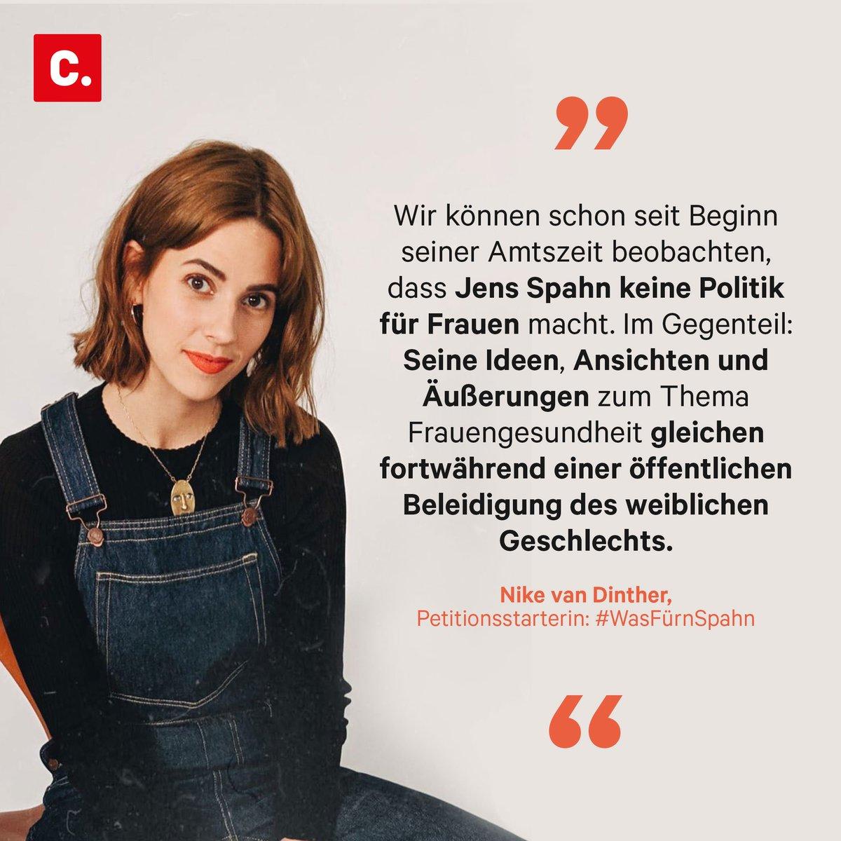 """Bloggerin Nike protestiert gg. #219a, auch gegen @jensspahn s """"Abtreibungsstudie"""". Auch wenn der Bundestag für den umstrittenen Kompromiss gestimmt hat, will sie weiter gegen die Studie kämpfen: """"Herr #Spahn, 5 Millionen Euro für Hilfe statt Hass!""""  #WegMit219 #WasFuernSpahn"""