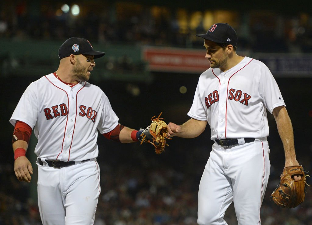 .@BostonSportsBSJ:  McAdam: Steve Pearce and Nathan Eovaldi, no strangers to Red Sox, experiencing a first  http:// dlvr.it/QzPCBb  &nbsp;  <br>http://pic.twitter.com/dtYCDtuZit