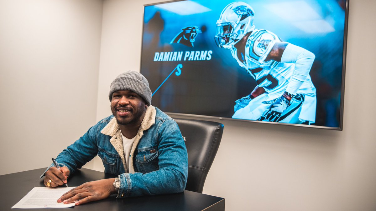 Welcome back Damian Parms!