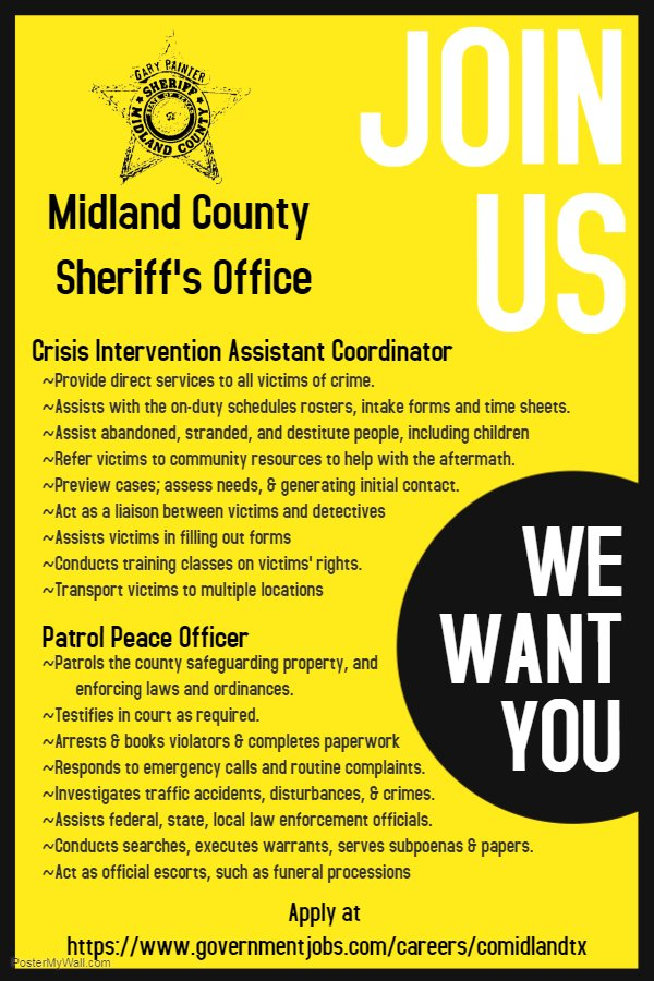 Midland County TX (@MidlandCoTX) | Twitter