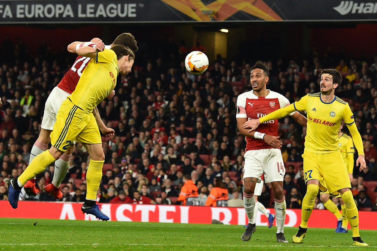 Arsenal vs BATE Borisov Video Highlights & Goals