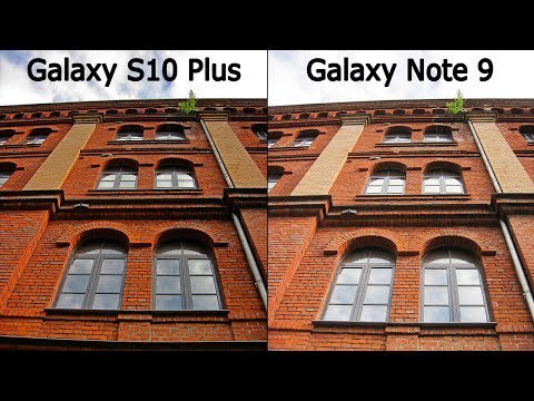 مقارنة بين Samsung Galaxy S10 Plus vs Samsung Galaxy Note 9