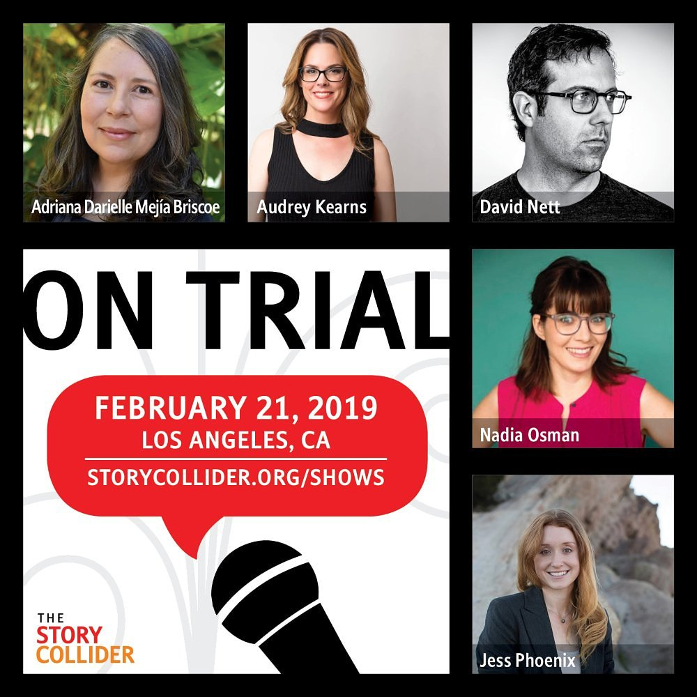 Last chance! Come out tonight & hear some fantastic stories live on stage, including one from Yours Truly. If you like volcanoes & angry deities, look no further: I've got you covered. Big thanks to @storycollider! 🌋🎙️  #ThursdayThoughts #story #science https://www.storycollider.org/shows/2019/2/21/los-angeles-ca-on-trial…