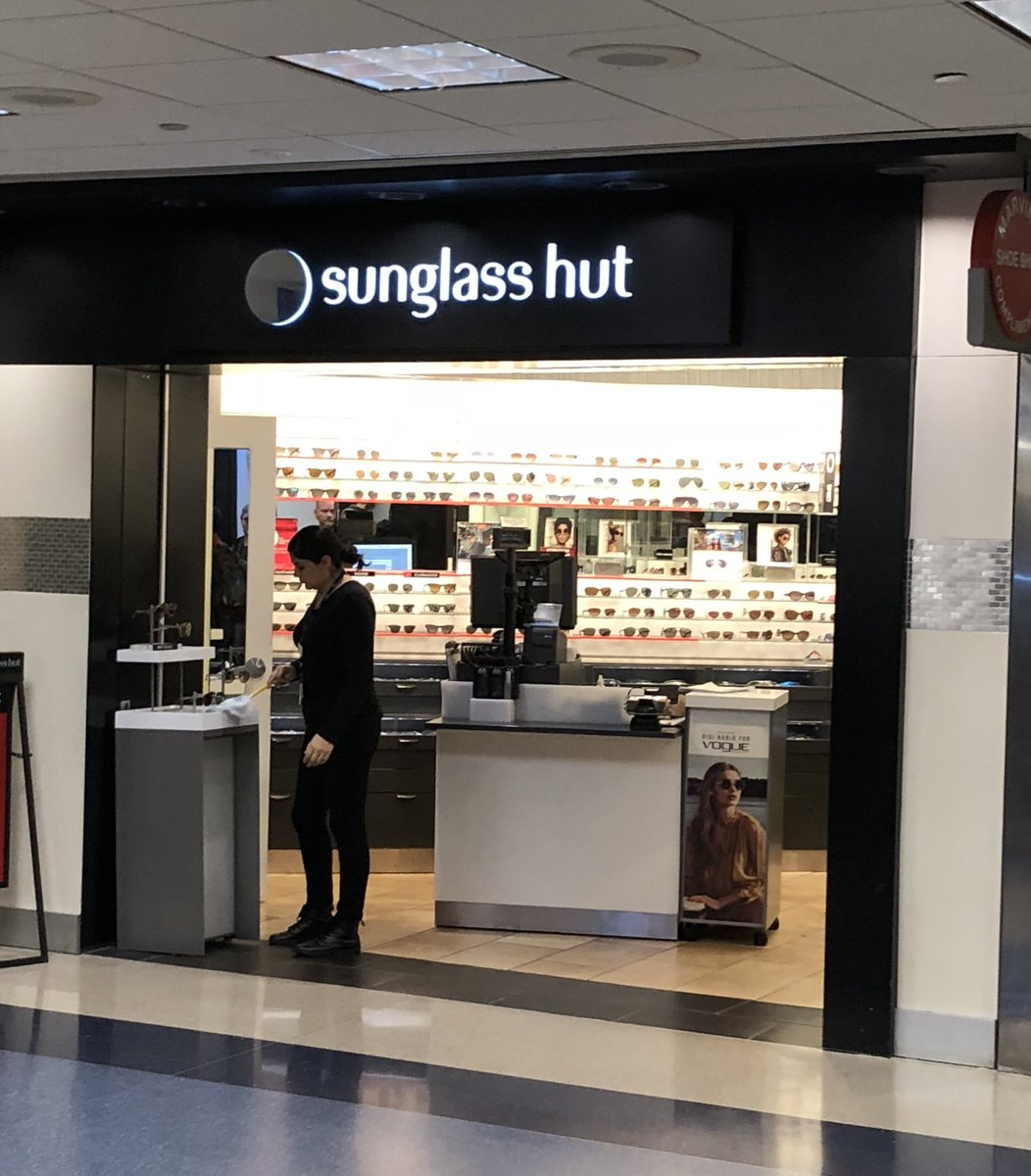 "874350461ff How have I never noticed that before Does no one care about the ENGLISH  LANGUAGE ANYMORE PEOPLE!  Also  That is not a ""HUT""!  SunglassHut ..."