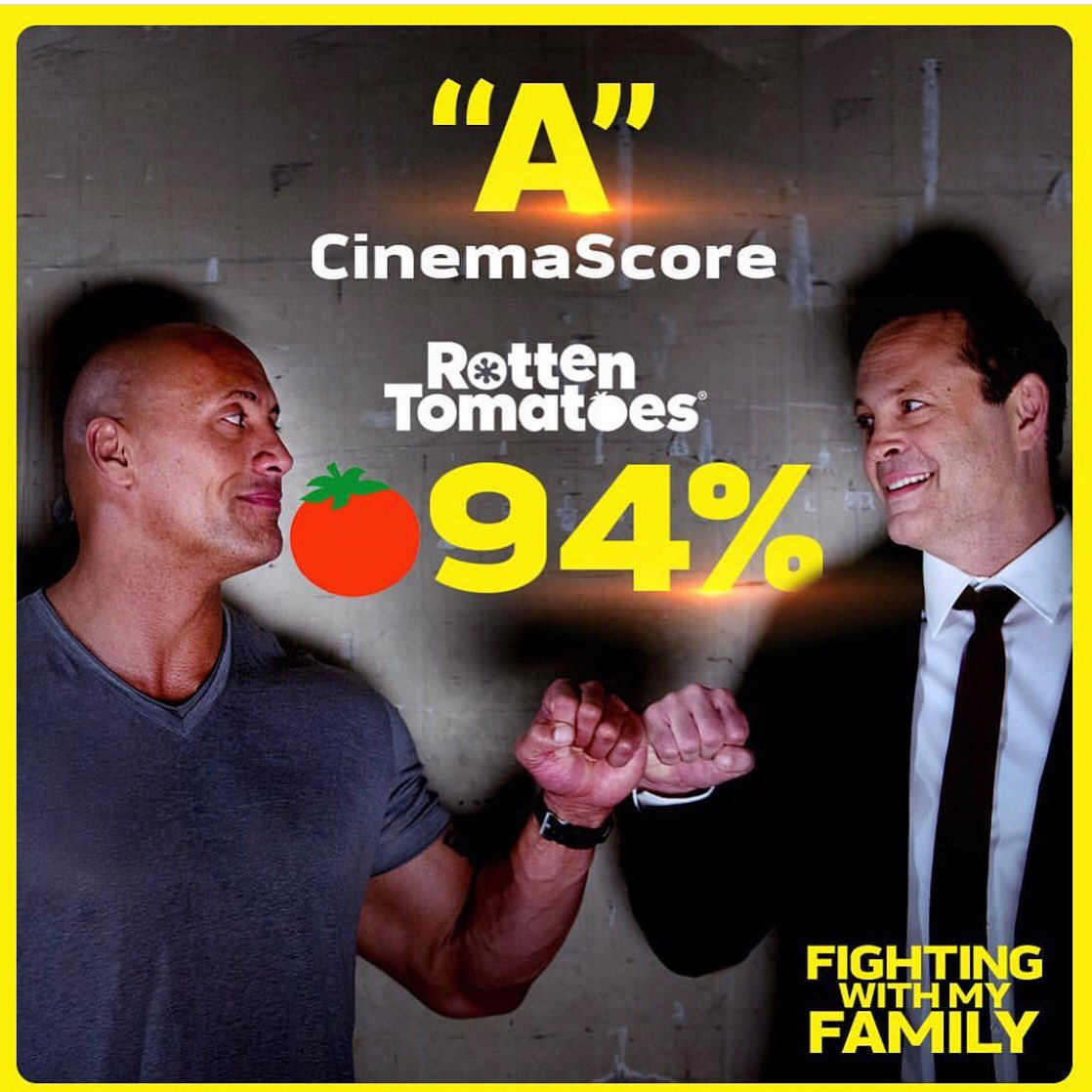 My movie @FightingWMyFam is in US theaters everywhere tonight. You will love it, I promise.