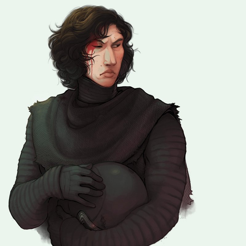 Bar Room Brawler Kylo Ren ends up visiting the Med Bay more often than he probably should, a headcanon/ dumb little study that got waaaay out of hand   (CW for blood and stuff) <br>http://pic.twitter.com/pWkm0lMBWB
