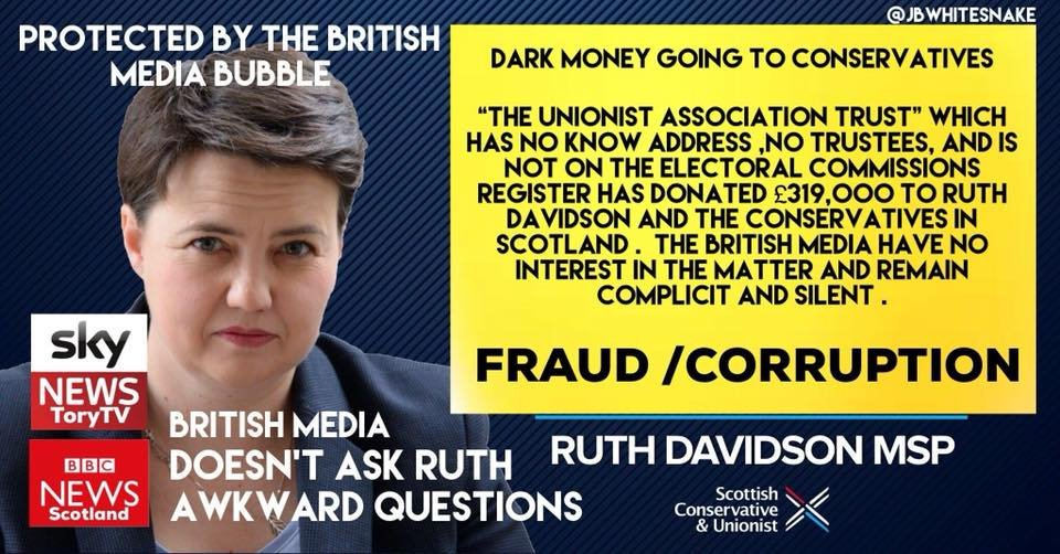 Scottish Tories have mobile Advertising Boards and Billboards all over Scotland, promoting the lie of an SNP Car Park Charge - which doesn&#39;t actually exist.  WHO is paying for this campaign of Tory Lies and where did that money come from, this time? <br>http://pic.twitter.com/ic88vKIKWa
