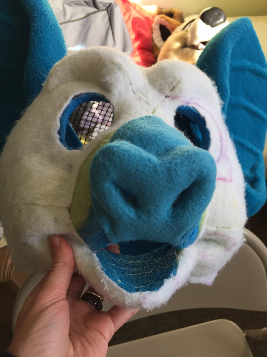 Current project is finishing up this bat! Will be available as a partial suit soon. And more WIP pics will be available for our patrons as I work on this! #fursuit #fursuitmaker #wip<br>http://pic.twitter.com/JhmDA7rwB9