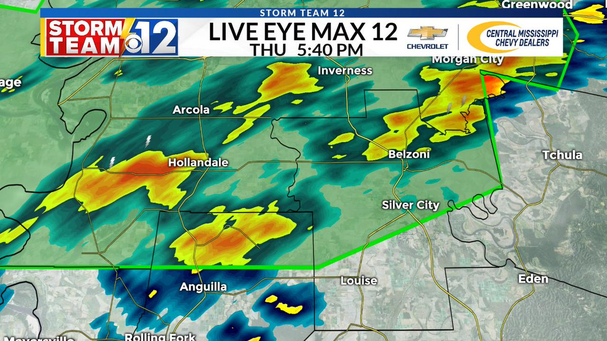 FLASH FLOOD WARNING...A Flash Flood Warning is in effect for northern Sharkey Co. and Humphreys Co. until 11:30pm. 3' to 6' of rain have already fallen in the warned area in the past few days. Additional rainfall amounts of 1' to 2' are possible.  #mswx