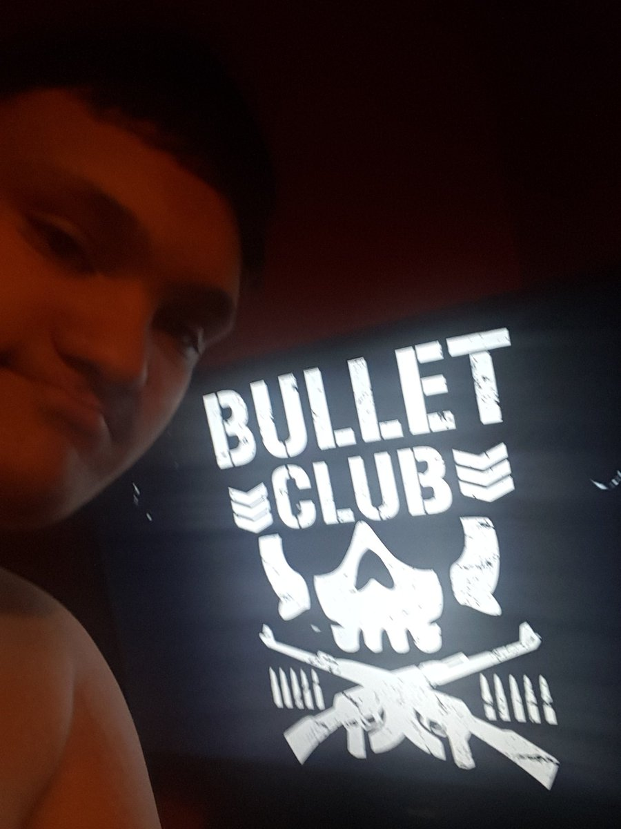 New member of the bullet club <br>http://pic.twitter.com/yWfvZZfGmD