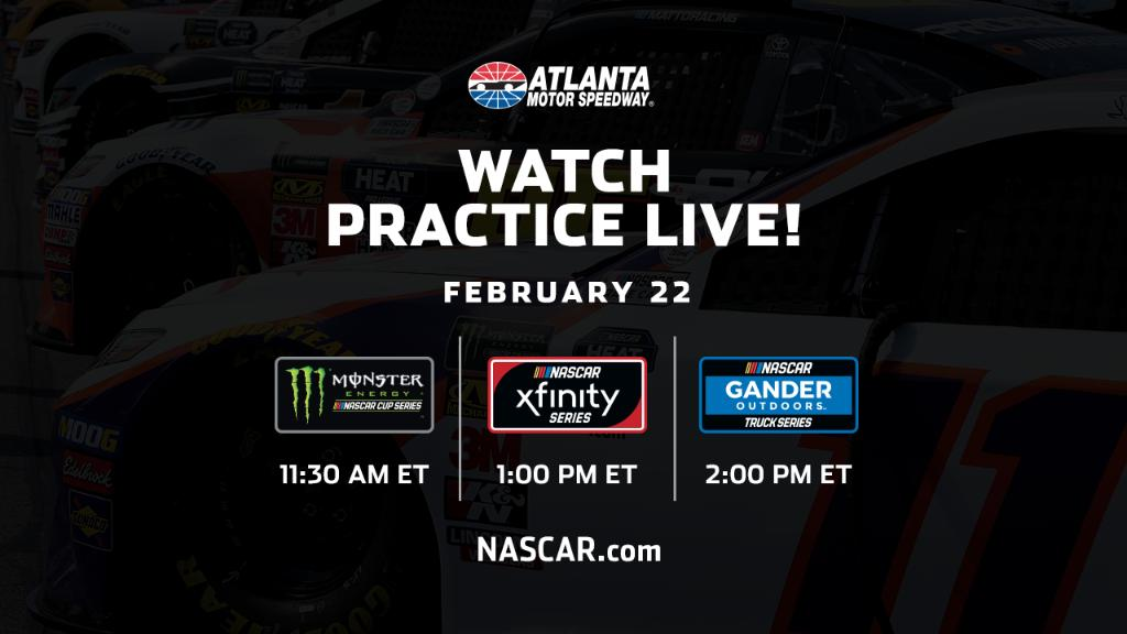 is the happening spot for early practice sessions from  on Friday!  Live stream@amsupdates details:  https://t.co/FEiF1HW54h
