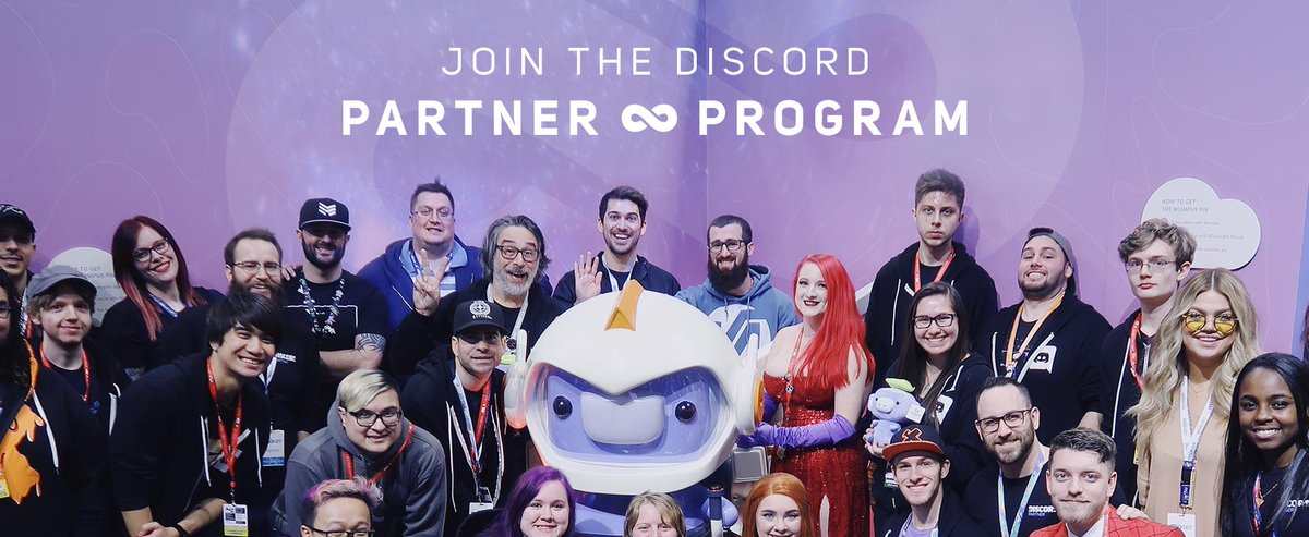 We're lookin for the crème de la crème of creators & communities to join our Partner Program. Bring a freshly-exfoliated foot forward and step into the milky center of our Partner parfait for a special hoodie and server perks.   Lactose intolerant welcome: http://discordapp.com/partners