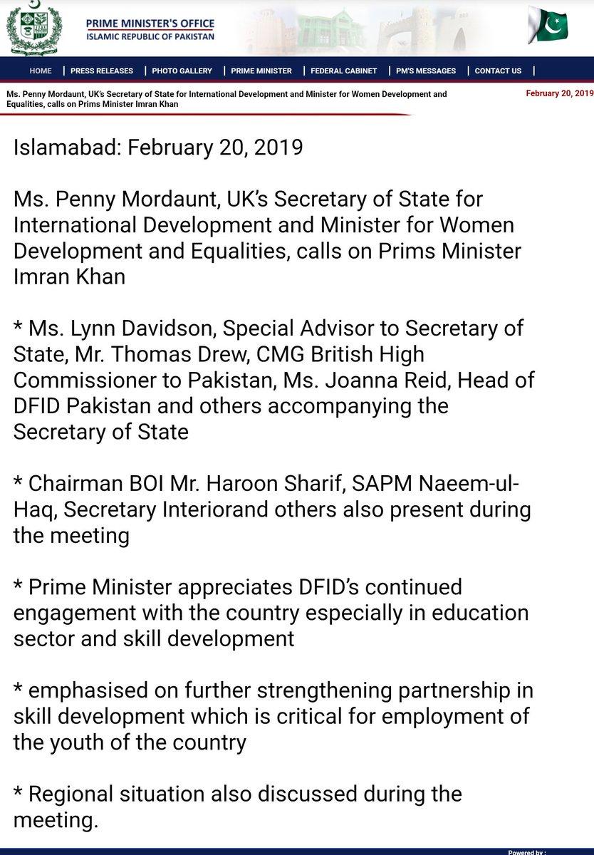UK - Pakistan discuss enhancing partnership in Skills development to boost youth employment. #UK #Pakistan #EmergingPakistan