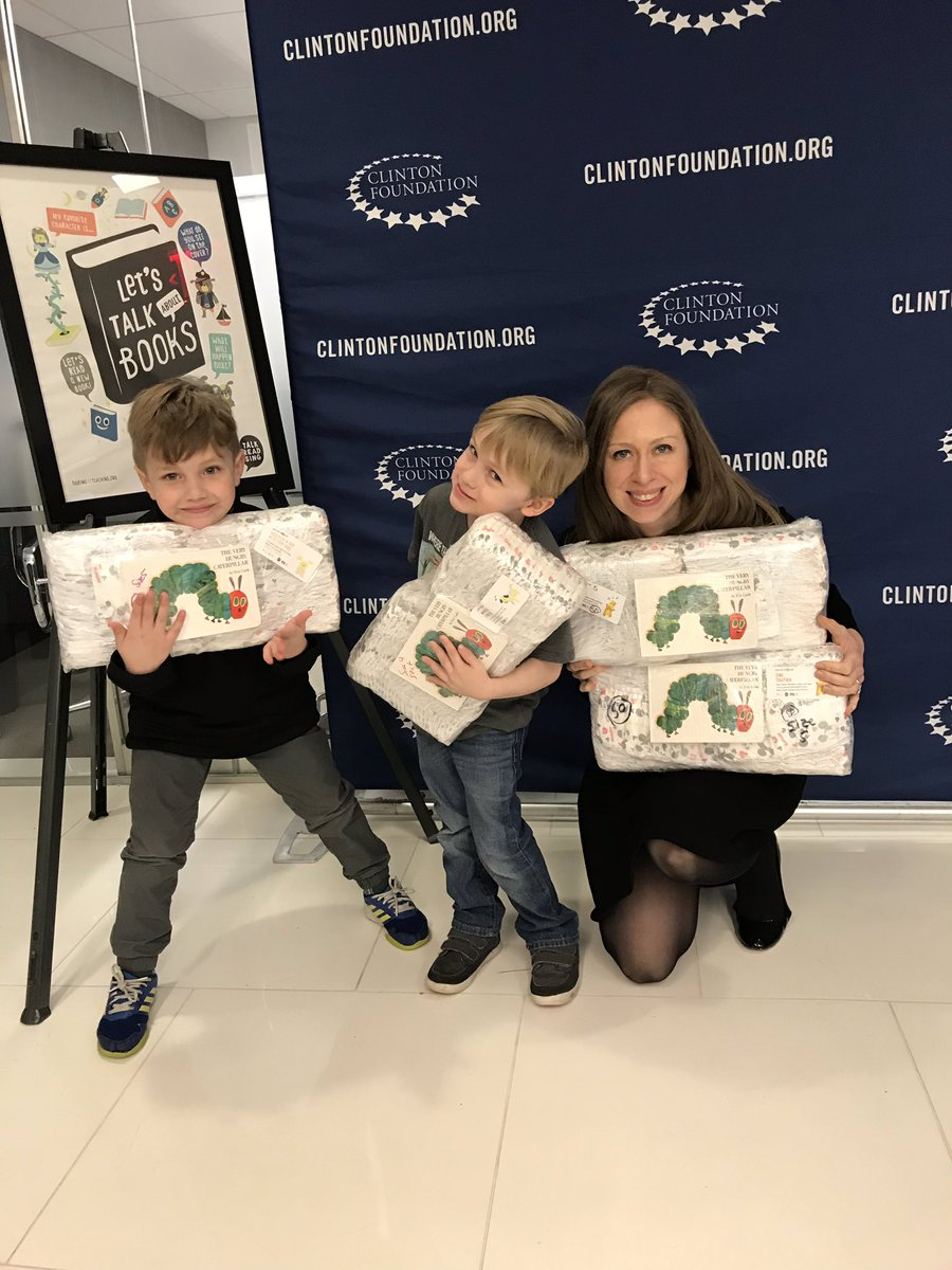 Chelsea Clinton On Twitter Our Two Youngest Dayofaction