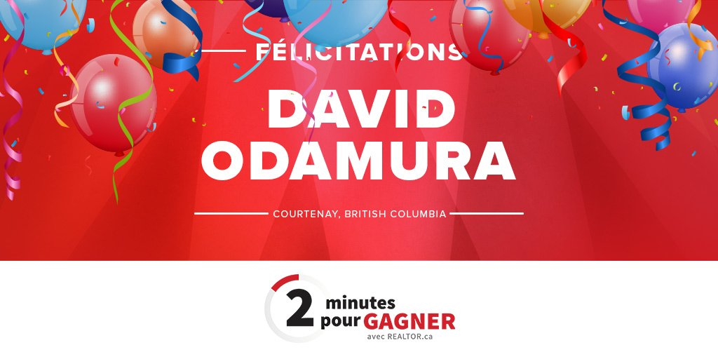 test Twitter Media - Roulement de tambour! 🥁🥁🥁  David Odamura remporte notre grand prix du concours « 2 minutes pour gagner avec @REALTORpointca » : une transformation professionnelle de 5 000 $! https://t.co/ML2w9x3rX1