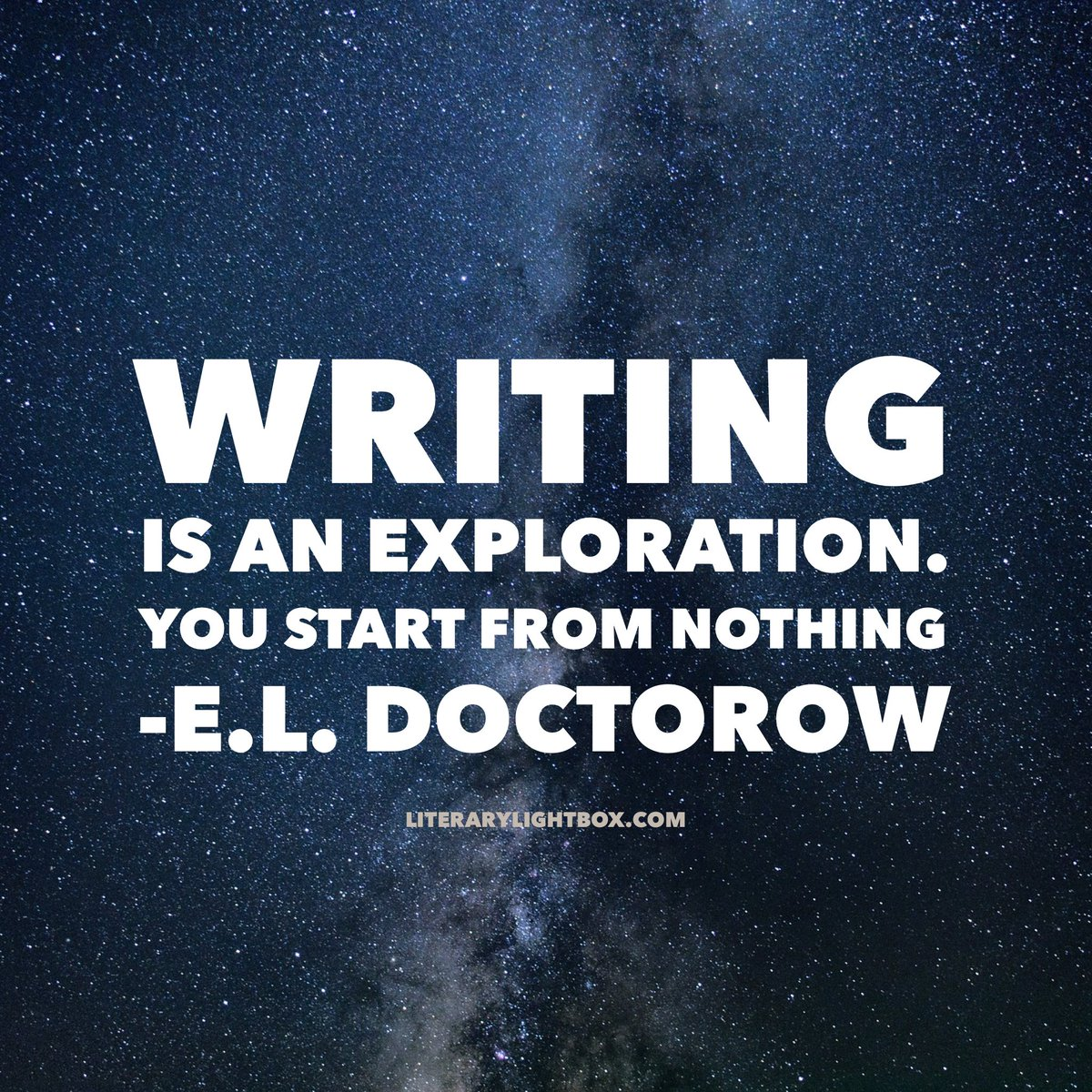 ... and then you sail off towards the edge of the known world. That's exactly what #writing is like.