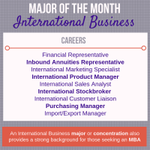 Are you looking for a major that can prepare you culturally, socially and professionally? International Business develops students to enter entry and mid-level positions in firms actively involved in business activities across international borders. #HPU365 #MyMajorAtHPU