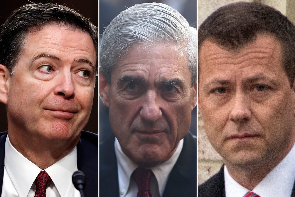 America cannot ignore the FBI secret coup.  They attempted to overthrow the President of the United States.  There needs to be a special counsel with prosecutorial powers to investigate Robert Mueller, James Comey, Andrew McCabe, Peter Strzok, Hillary Clinton, and Barrack Obama!