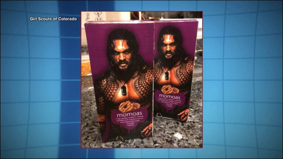 A very creative Girl Scout turned Samoas into Momoas, named after the hunky 'Aquaman' star, and sold every box.  https://t.co/iNixhKy7Ww