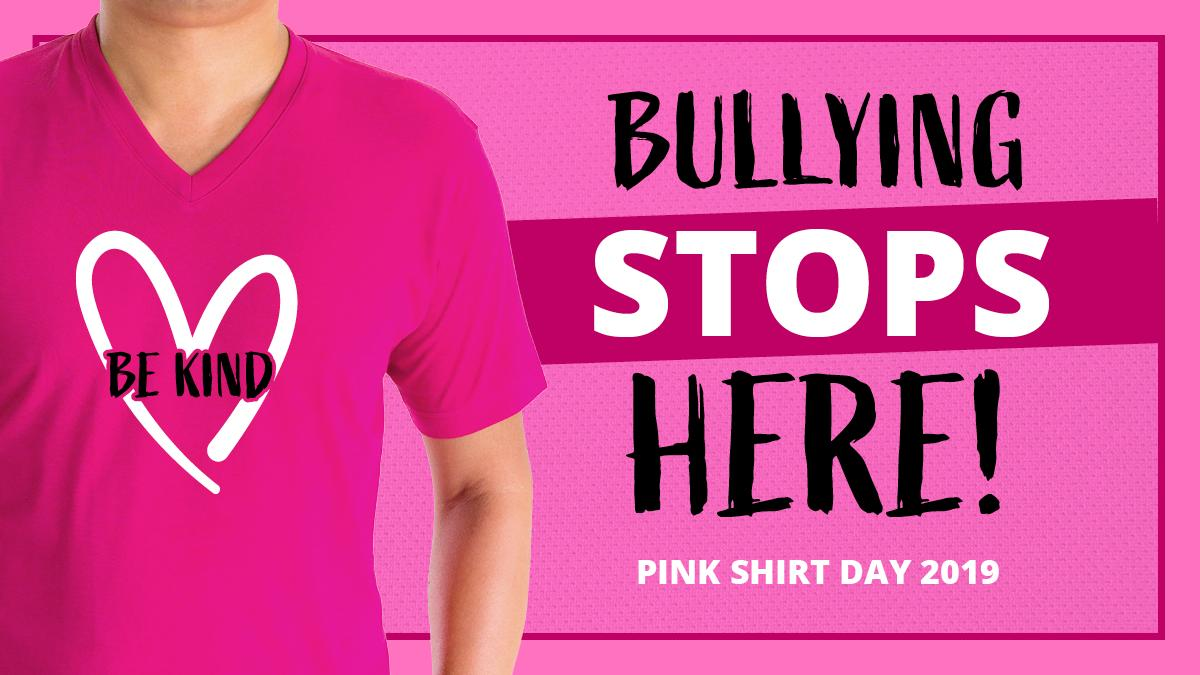 #CBSA has zero tolerance for any form of workplace harassment. On Feb 27, #CBSA challenges GoC depts to wear a pink shirt or accessory and take a stand against bullying! You in? #pinkshirtday #stopbullying #BeKind #GCPinkShirtChallenge