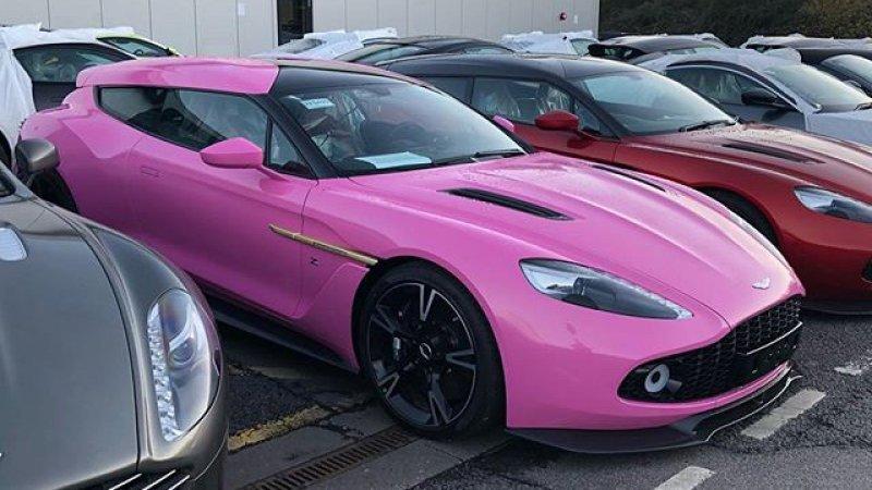 Autoblog Auf Twitter This Aston Martin Vanquish Zagato Shooting Brake Is A Masterpiece In Pink Https T Co Kdwg443llp