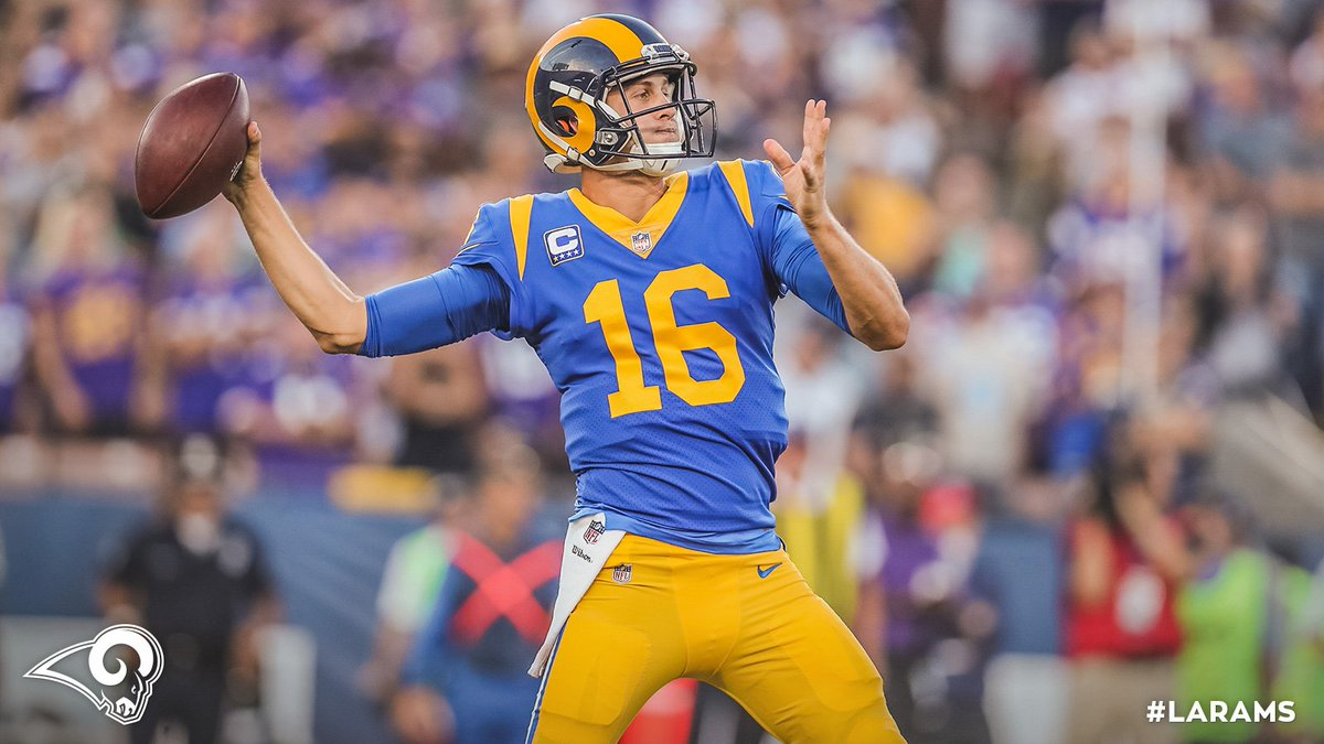 Follow + RT to enter for a chance to win an autographed Jared Goff !   #ThankYouRamsFans sweeps rules  »  http:// gora.ms/0eIwPT  &nbsp;  <br>http://pic.twitter.com/KZbH2m7NlP