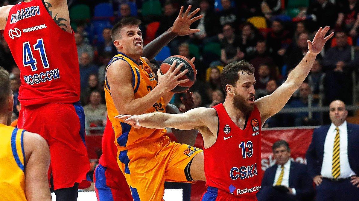#Baloncesto | Final del @cskabasket 107 - 85 @GranCanariaCB #Jornada23 #euroliga