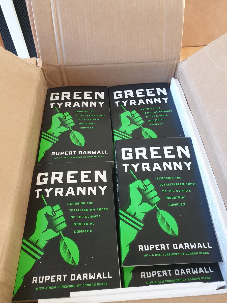 Thank you @EncounterBooks for the paperback. Timely reminder that the Green New Deal requires a #GreenTyranny.<br>http://pic.twitter.com/DdE63poI1Z