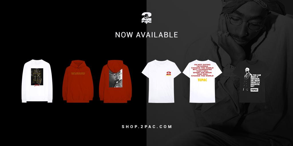An exclusive collection inspired by #Tupac quotes has been added to the official #2PAC Shop for a limited time.  http:// 2pac.lnk.to/ShopFeb19Tw  &nbsp;  <br>http://pic.twitter.com/OyFQVd80kt