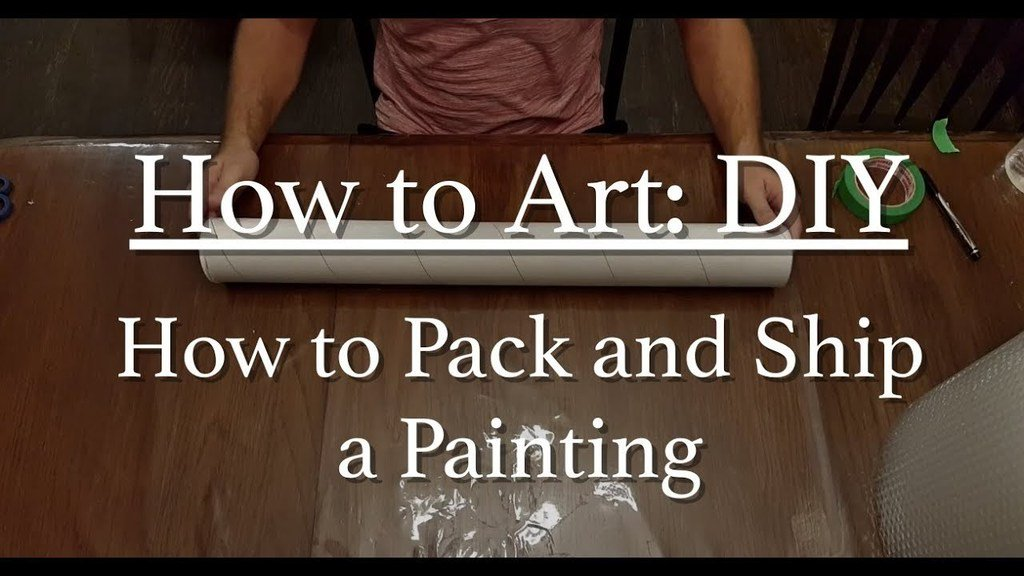 Art DIY - How to Package and Ship a Painting Video  https:// youtu.be/ak0XcncjInI  &nbsp;   #art #diy #arttips #painting #artist #fineartist<br>http://pic.twitter.com/X7T57Eikvv